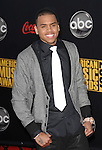 Chris Brown arrives at the 2007 American Music Awards held at the Nokia Theatre Los  Angeles, Ca. November 18, 2007.  Fitzroy Barrett
