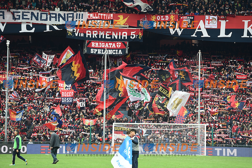 tifosi Genoa<br /> Genova 27-11-2016 Stadio Marassi Football Campionato di Calcio Serie A 2016/2017 Genoa - Juventus foto Image Sport/Insidefoto