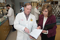 Jan Chambers, who is a Giles Distinguished Professor, and her research team have spent several years making and testing nerve agent antidotes that have the potential to cross the blood-brain barrier, the highly selective membrane that prevents many drugs in the circulating blood from entering the brain and the rest of the central nervous system.  <br /> <br /> http://www.alumnus.msstate.edu/summer18/antidote.html