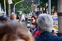 RIO DE JANEIRO, RJ, 08.07.2019 - VELORIO-JOÃO GILBERTO -  A socialite Narcisa Tamborindeguy esteve presente no velório no Theatro Municipal do músicoJoão Gilberto, na manhã desta segunda-feira(8).O músico morreu em cas, neste sábado(6), aos 88 ano. João Gilberto foi um dos criadores da bossa nova e enfrentava problemas de saúde havia alguns anos.Cinelândia, regiao central do Rio de Janeiro Rio de Janeiro ( Foto: Vanessa Ataliba/Brazil Photo Press/Folhapress)