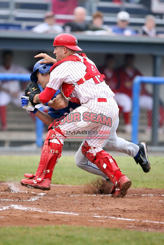 July 5th, 2007:  Nick Derba of the Batavia Muckdogs, Short-Season Class-A affiliate of the St. Louis Cardinals at Dwyer Stadium in Batavia, NY.  Photo by:  Mike Janes/Four Seam Images