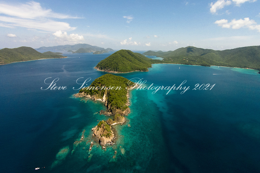 Whistling Cay aerial<br />