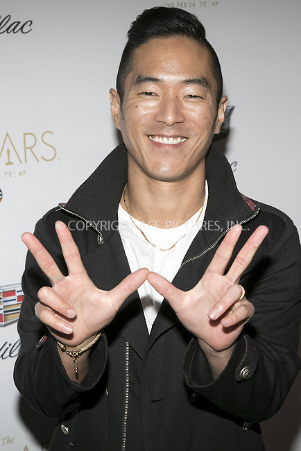 www.acepixs.com<br /> <br /> February 23 2017, LA<br /> <br /> Leonardo Nam arriving at the Cadillac Oscar Week Celebration at Hotel Chateau Marmont on February 23 2017 in Los Angeles<br /> <br /> By Line: Famous/ACE Pictures<br /> <br /> <br /> ACE Pictures Inc<br /> Tel: 6467670430<br /> Email: info@acepixs.com<br /> www.acepixs.com