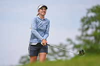Luna Sobron Galmes (ESP) watches her tee shot on 3 during the round 2 of the KPMG Women's PGA Championship, Hazeltine National, Chaska, Minnesota, USA. 6/21/2019.<br /> Picture: Golffile | Ken Murray<br /> <br /> <br /> All photo usage must carry mandatory copyright credit (© Golffile | Ken Murray)
