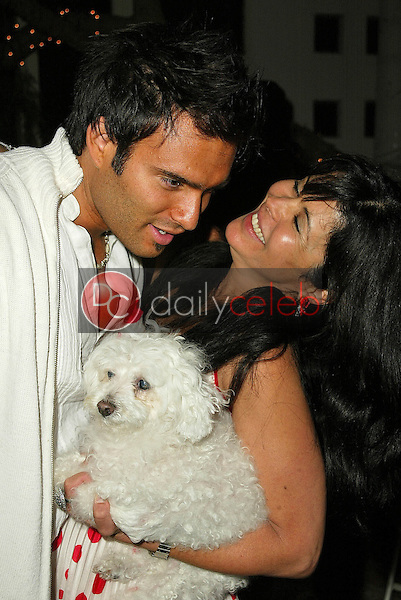 Diego Varas and Maria Conchita Alonso<br /> at Maria Conchita Alonso's Surprise Birthday Party, Private Residence, Los Angeles, CA 06-25-05<br /> David Edwards/DailyCeleb.Com 818-249-4998<br /> EXCLUSIVE