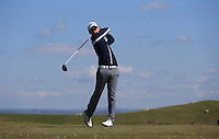 Joe Knox during Round Two of the West of England Championship 2016, at Royal North Devon Golf Club, Westward Ho!, Devon  23/04/2016. Picture: Golffile | David Lloyd<br /> <br /> All photos usage must carry mandatory copyright credit (&copy; Golffile | David Lloyd)