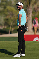 Joost Luiten (NED) on the 16th green during Round 3 of the Abu Dhabi HSBC Championship at the Abu Dhabi Golf Club, Abu Dhabi, United Arab Emirates. 18/01/2020<br /> Picture: Golffile | Thos Caffrey<br /> <br /> <br /> All photo usage must carry mandatory copyright credit (© Golffile | Thos Caffrey)