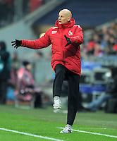 FUSSBALL   1. BUNDESLIGA  SAISON 2011/2012   17. Spieltag FC Bayern Muenchen - 1. FC Koeln       16.12.2011 Trainer Stale Stolbakkakken (1. FC Koeln)