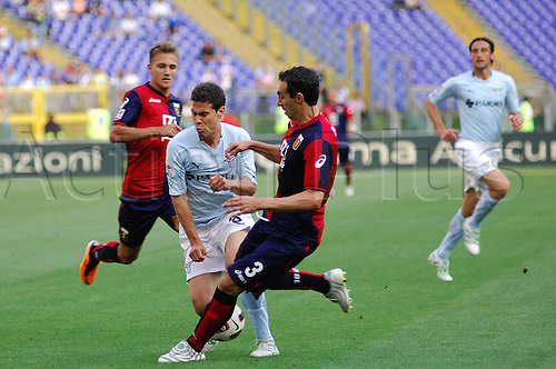 14.05.2011 Seria A Tim - stadio olimpico in Rome, Italy - Lazio versus Genoa 4-2.
