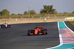 03.12.2019, Yas Marina Circuit, Abu Dhabi, Formel 1 Testfahrten Abu Dhabi 2019<br />, im Bild<br />Sebastian Vettel (GER#5), Scuderia Ferrari Mission Winnow, Sergio Perez (MEX#11), Sportpesa Racing Point F1 Team<br /> <br /> Foto © nordphoto / Bratic
