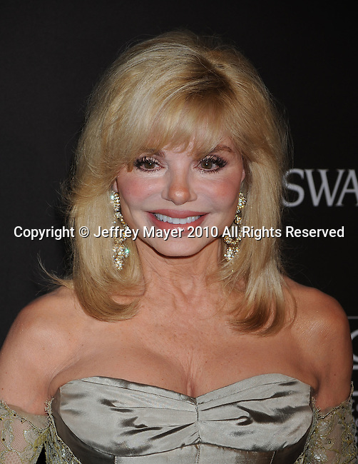 BEVERLY HILLS, CA. - February 25: Loni Anderson  arrives at the 12th Annual Costume Guild Awards at the Beverly Hilton Hotel on February 25, 2010 in Beverly Hills, California.