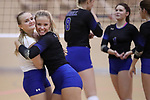Boswell defeats Saginaw 3-0 in high school volleyball on Tuesday, October 3, 2017. (photo by Khampha Bouaphanh)