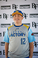 Matt Malloy (12) of Westminster High School in Westminster, California during the Baseball Factory All-America Pre-Season Tournament, powered by Under Armour, on January 12, 2018 at Sloan Park Complex in Mesa, Arizona.  (Zachary Lucy/Four Seam Images)