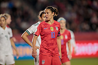 CARSON, CA - FEBRUARY 7: Carli Lloyd #10 of the United States during a game between Mexico and USWNT at Dignity Health Sports Park on February 7, 2020 in Carson, California.