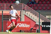 SÃO PAULO, SP, 19.08.2015 - FUTEBOL-SÃO PAULO -  Lyanco durante treino do São Paulo Futebol  no Centro de Treinamento da Barra Funda, na manhã desta quarta-feira, 19. (Foto: Adriana Spaca/Brazil Photo Press)
