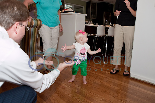 June 30, 2011: Abby Bueker's first birthday party at Paul and Jami Bueker's home