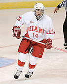 Geoff Smith - The Boston College Eagles defeated the Miami University Redhawks 5-0 in their Northeast Regional Semi-Final matchup on Friday, March 24, 2006, at the DCU Center in Worcester, MA.