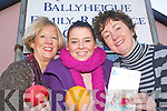 BENG WELL: Ballyheigue/Kerryhead Family Resource.Centre is inviting you to take part in their HSE Being Well.course. Pictured were Maria O'Connor, Kathleen McAuliffe.and Laura Dineen at the centre on Monday morning.   Copyright Kerry's Eye 2008