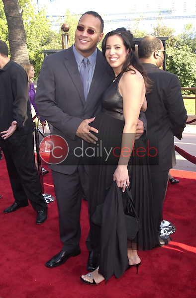 The Rock and wife Danni