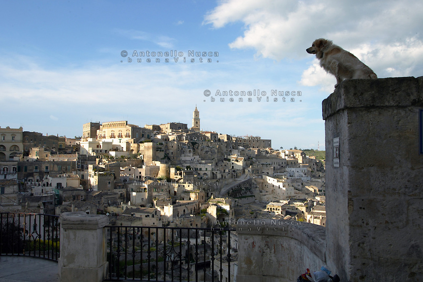 Matera, October 2011. Matera è stata nominata Capitale della cultura europea del 2019. The southern Italian city of Matera, famed for its UNESCO-listed 'Sassi' City of Stone that has formed the backdrop to several films including The Passion of the Christ, was picked as European Culture Capital 2019.Matera, October 2011.