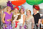 Pictured at Listowel Races, Ladies Day on Friday from left: Gemma Healy (Tralee), Annmarie Blennerhassett (Tralee), Aisling Foley (Tralee),  Aileen Healy (Tralee), Kerrie O'Neill (Tralee).