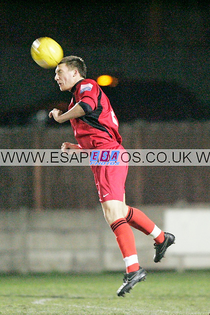 ROMFORD v EAST THURROCK UNITED<br /> RYMAN LEAGUE NORTH<br /> TUESDAY 14TH DEC 2010<br /> MILL FIELD