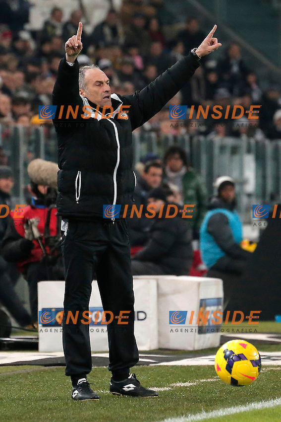 Francesco Guidolin Udinese <br /> Torino 01-12-2013 Juventus Stadium - Football Calcio 2013/2014 Serie A  - Juventus - Udinese - Foto Marco Bertorello  / Insidefoto