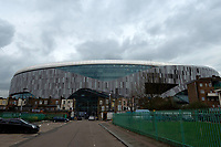 Tottenham Hotspur Stadium in its final stages of completion at High Road (White Hart Lane), London, England on 19 March 2019. Photo by Vince  Mignott.
