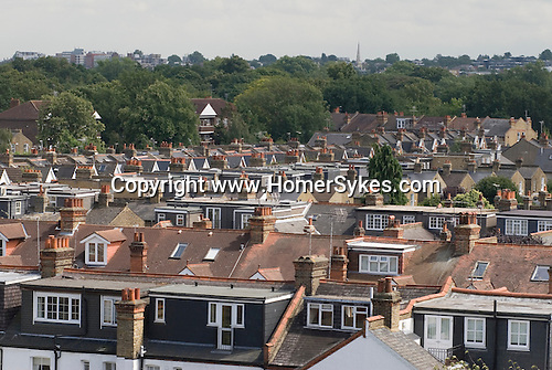 Roof extension loft convertion suburbian London Uk