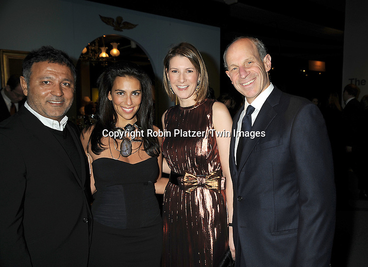Rory and Elie Tahari with Lizzie and Jonathan Tisch..at The 55th Annual Winter Antiques Show opening night on January 22, 2009 at The Park Avenue Armory at 67th Street and Park Avenue in New York City. ....Robin Platzer, Twin Images