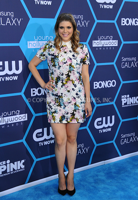 ACEPIXS.COM<br /> <br /> July 27 2014, LA<br /> <br /> Molly Tarlov arriving at the 2014 Young Hollywood Awards at The Wiltern on July 27, 2014 in Los Angeles, California. <br /> <br /> By Line: Peter West/ACE Pictures<br /> <br /> ACE Pictures, Inc.<br /> www.acepixs.com<br /> Email: info@acepixs.com<br /> Tel: 646 769 0430