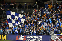 'The Cauldron' Kansas City Wizards fans...Kansas City Wizards defeated D.C Utd 4-0 in their home opener at Community America Ballpark, Kansas City, Kansas.