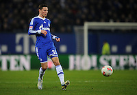 FUSSBALL   1. BUNDESLIGA    SAISON 2012/2013    14. Spieltag   Hamburger SV - FC Schalke 04                               27.11.2012 Julian Draxler (FC Schalke 04) Einzelaktion am Ball
