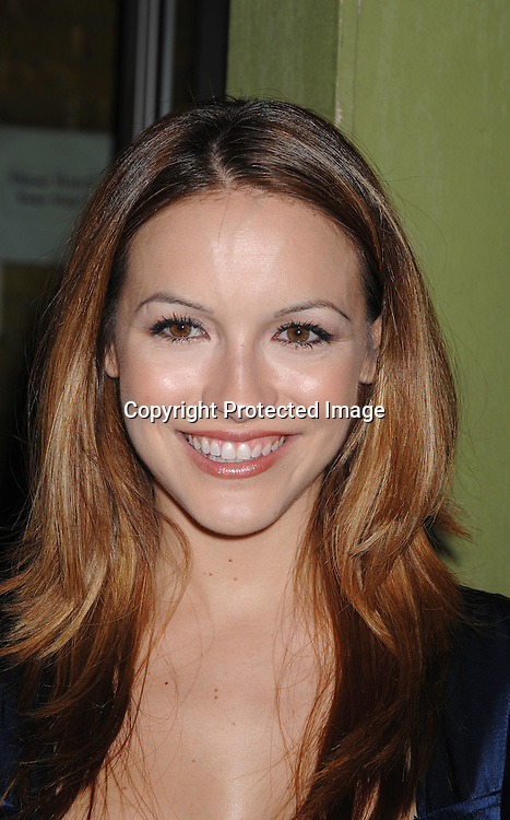 "Chrishell Stause..arriving at The All My Children viewing party to watch co-star Cameron Mathison on ""Dancing with the Stars"" on ..September 25, 2007 at Prohibition in New York City. ..Photo by Robin Platzer, Twin Images....212-935-0770"