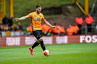 7th March 2020; Molineux Stadium, Wolverhampton, West Midlands, England; English Premier League, Wolverhampton Wanderers versus Brighton and Hove Albion; Matt Doherty of Wolverhampton Wanderers brings the ball in off the wing