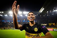 Achraf Hakimi BvB Borussia Dortmund celebrates at the end of the match  <br /> Dortmund 5-11-2019 BVB Stadion <br /> Football Uefa Champions League 2019/2020 Group F Borussia Dortmund - FC Internazionale <br /> Photo Imago/Insidefoto