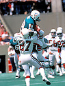 Miami Dolphins Nat Moore(89) in action during a game St. Louis Cardinals. Nat Moore played for 13 years all with Miami Dolphins and was a 1-time Pro Bowler.David Durochik/SportPics