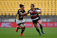 Justine Lavea of Counties Manukau in action during the Farah Palmer Cup - Wellington Pride v Counties Heat at Westpac Stadium, Wellington, New Zealand on Sunday 15 September 2019. <br /> Photo by Masanori Udagawa <br /> www.photowellington.photoshelter.com