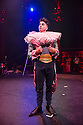 London, UK. 10.04.2014. Australian circus ensemble, Company 2, bring SHE WOULD WALK THE SKY to the Roundhouse, as part of CircusFest 2014. Picture shows: Kane Petersen (The Clown). Photograph © Jane Hobson.