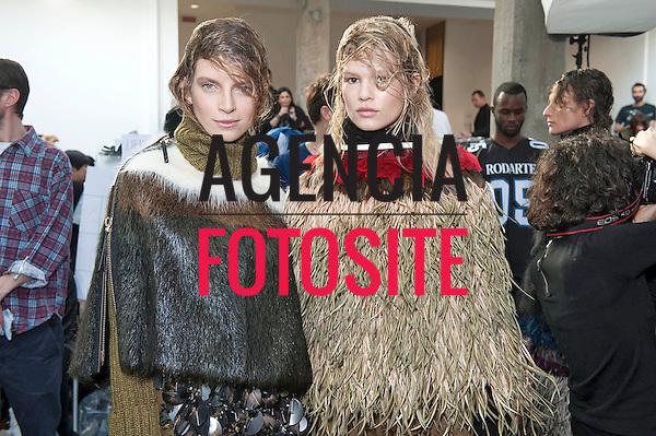 Milao, Italia &ndash; 02/2014 - Desfile de Marni durante a Semana de moda de Milao - Inverno 2014. <br /> Foto: FOTOSITE
