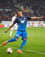 Sandro WAGNER, Hoff 14 <br /> TSG 1899 HOFFENHEIM - ISTANBUL Basaksehir  3-0<br /> Gruppe C, Football UEFA Europa League, Hoffenheim, 19.10.2017<br /> EL Saison 2017/2018<br /> <br />  *** Local Caption *** © pixathlon +++ tel. +49 - (040) - 22 63 02 60 - mail: info@pixathlon.de