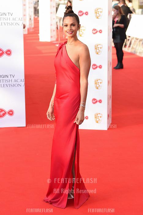 Alesha Dixon arriving for the BAFTA TV Awards 2018 at the Royal Festival Hall, London, UK. <br /> 13 May  2018<br /> Picture: Steve Vas/Featureflash/SilverHub 0208 004 5359 sales@silverhubmedia.com