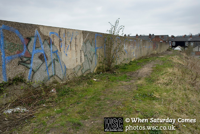 The site of The Victoria Ground, home of Stoke City until 1997.Photo by Paul ThompsonStoke City 2 Bristol City 1, 19/04/2008. Britannia Stadium, Championship. Photo by Paul Thompson.