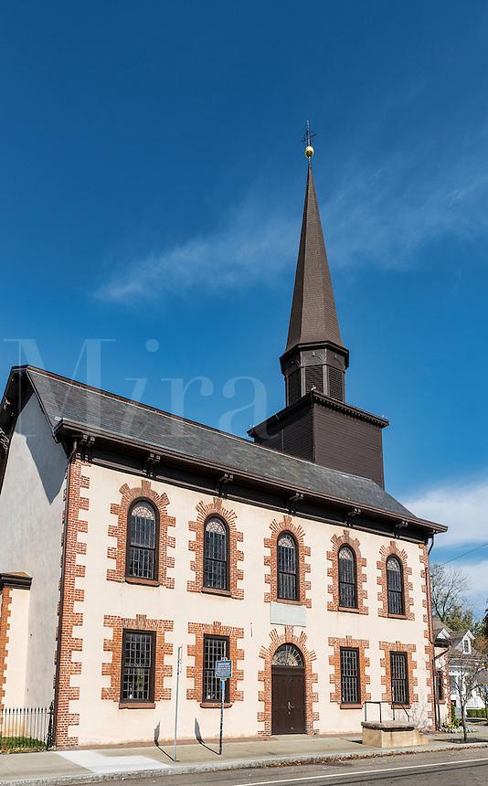 Dutch Reformed church, Fishkill, New York, USA