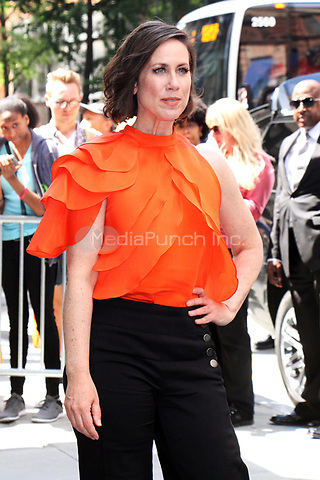NEW YORK, NY - JUNE 27: Miriam Shor at AOL Build in New York City on June 27, 2017. Credit: RW/MediaPunch