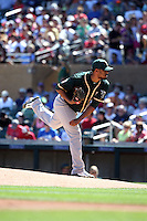 Felix Doubront - Oakland Athletics 2016 spring training (Bill Mitchell)