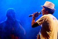 """XXX Festival de Música de Ourém<br /> <br /> O Festival da Canção do município de Ourém, nordeste paraense, considerado um dos mais antigos em atividade no Brasil, realizou sua 30ª edição, no ultimo sábado (26), no Complexo Cultural e Turístico, no palco da concha acústica municipal. O evento iniciou na quinta (24) com a primeira eliminatória e a segunda  na sexta (25) foram classificadas quatorze músicas, sendo sete de cada eliminatória para a finalissíma do festival.<br /> <br /> A grande vencedora do XXX Festival, ficando em primeiro lugar foi à canção """"Cantiga de Lelê"""", de Marcos Campelo, que conseguiu a aprovação dos jurados e somou maior pontuação entre as participantes. A mesma canção, ainda levou o prêmio de Melhor Arranjo do festival.<br /> <br /> O primeiro e segundo lugar foi dividido entre as músicas: """"Vestida como a Flor"""", de Lula Barbosa e Clodoaldo Ferreira, e """"Rios de Anseios"""", de Paulo Moura e Marcela Moura.<br /> <br /> Ainda foram premiados: A canção, """"Manoela"""" de Alderico Ayres,como Melhor Música de Ourém no Festival. Andrea Pinheiro como Melhor Interpreta, defendendo a música """"Rios de Anseio"""" de Paulo e Marcela Moura.<br /> <br /> Ourém, Pará, Brasil.<br /> Foto Carlos Barretto<br /> 25/07/2014"""