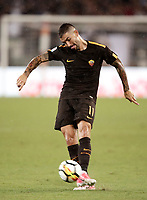 Calcio, Serie A: Roma, stadio Olimpico, 16 settembre 2017.<br /> Roma's Aleksandar Kolarov in action during the Italian Serie A football match between AS Roma and Hellas Verona at Rome's Olympic stadium, September 16, 2017.<br /> UPDATE IMAGES PRESS/Isabella Bonotto
