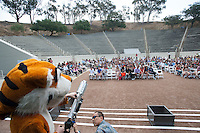 Commencement rehearsal for the Occidental College class of 2013 on Friday, May 17 2013. (Photo by Marc Campos, Occidental College Photographer)