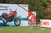 Panuphol Pittayarat (THA) in action on the 11th during Round 1 of the Hero Indian Open at the DLF Golf and Country Club on Thursday 8th March 2018.<br /> Picture:  Thos Caffrey / www.golffile.ie<br /> <br /> All photo usage must carry mandatory copyright credit (&copy; Golffile | Thos Caffrey)